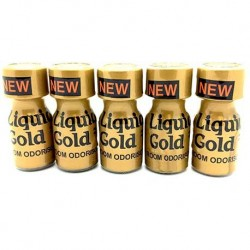 Liquid Gold Poppers x 5