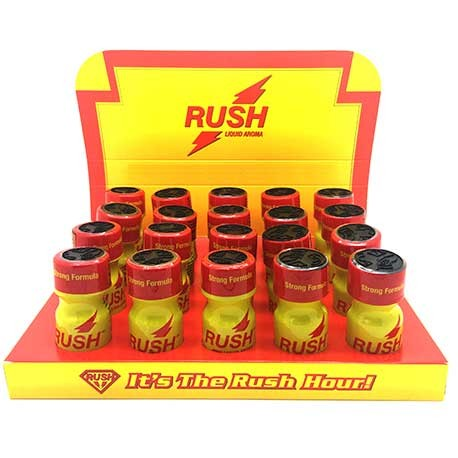 Rush Poppers x 20 - uk poppers shop