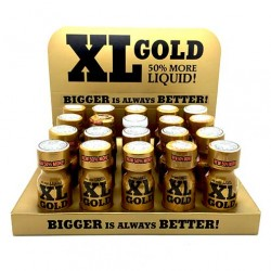 Wholesale XL Gold Poppers x 20