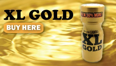 Buy XL GOLD poppers